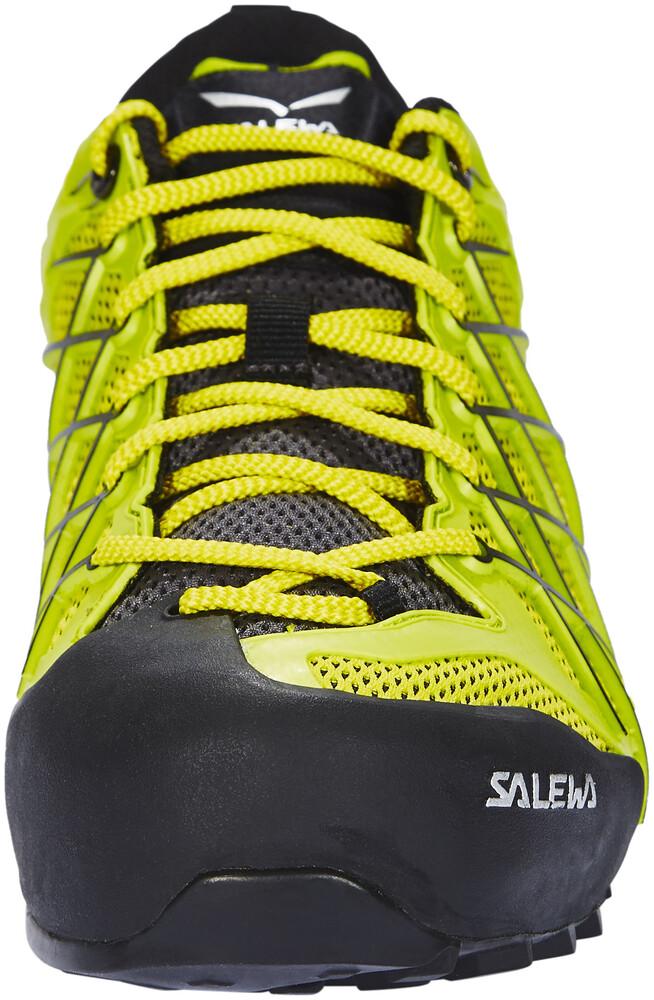 Baskets Basses Mixte Adulte Salewa Wildfire - Chaussures Homme - jaune/vert UK 9  41 EU rjEdAh